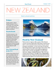 Food and Culture Fact Sheet: New Zealand