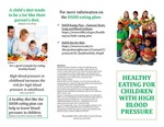 Healthy Eating For Children With High Blood Pressure