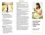 Nutrition For The Pregnant Teen