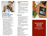 How To Manage Blood Sugar; Establishing Healthy Defaults by Julie Hiller