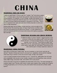 China: Food And Culture Fact Sheet