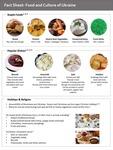 Ukrainian Cuisine by UNE Applied Nutrition Program