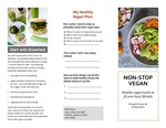 Vegan Healthy Defaults Pamphlet by UNE Applied Nutrition Program