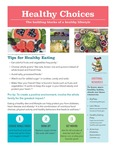 Healthy Choices: The Building Blocks of a Healthy Lifestyle (an educational Handout)