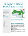 Iraqi Cultural Foods Fact Sheet by University of New England Applied Nutrition Program