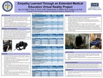 Empathy Learned Through An Extended Medical Education Virtual Reality Project by Wilson Mei, Elizabeth Dyer, Barbara Swartzlander, and Marilyn R. Gugliucci