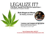 Week 2: Legalize It? by Mary Johnson