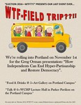Week 8: WTF — Field Trip??!! by Mary Johnson
