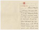 Dichiara il sottoscritto che la Sig.na Margaret Jackson… by Adolfo Venturi