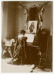 Josephine Peary at piano