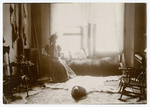 Josephine Peary posing at home