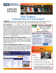 Library Reader Issue 03: Hot Topics by Elizabeth Dyer