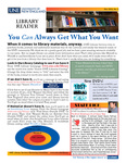 Library Reader Issue 05: You CAN Always Get What You Want by Elizabeth Dyer