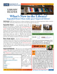 Library Reader Issue 07: What's New In The Library? by Elizabeth Dyer