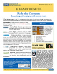 Library Reader Issue 12: Ride The Current by Elizabeth Dyer