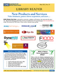 Library Reader Issue 15: New Products And Services by Elizabeth Dyer