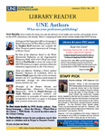 Library Reader Issue 18: UNE Authors by Elizabeth Dyer