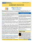 Library Reader Issue 19: Open Access by Elizabeth Dyer