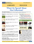 Library Reader Issue 09: What's So 'Special' About Our Collections? by Elizabeth Dyer