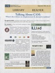 Library Reader Issue 11: Talking About CAM: Where's The Evidence On Complementary & Alternative Medicine?