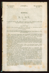 Congressional Record, 30th Congress, 1st session, Misc. No 150: Memorial of D. L. Dix by Dorothea Lynde Dix