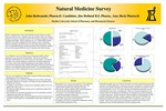 Natural Medicine Survey by John Redwanski, Jim Holland, and Amy Heck