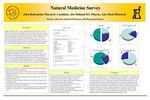 Natural Medicine Survey by John Redwanski, Jim Holland, and Amy Heck