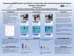 Adult Scoliosis And Chronic Low Back Pain With Land And Aquatic Based Physical Therapy: A Case Report