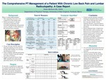 The Comprehensive PT Management Of A Patient With Chronic Low Back Pain And Lumbar Radiculopathy: A Case Report by Robin McGuire
