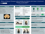 Physical Therapy On The Function Of A Patient With Stage III Parkinson's Disease: A Case Report