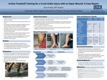 Incline Treadmill Training For A Crush Ankle Injury With An Open Wound: A Case Report