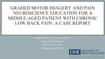 Graded Motor Imagery And Pain Neuroscience Education For A Middle-Aged Patient With Chronic Low Back Pain: A Case Report by Brandon Drinan