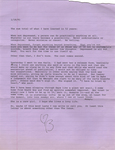 Letter from Ann Beattie to Burt Britton, 1991 January 18. by Ann Beattie
