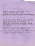 Letter from Ann Beattie to Burt Britton, 1991 January 18.