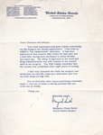 Letter from Margaret Chase Smith to Florence Burrill Jacobs. by Margaret Chase Smith