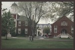 Abplanalp Library and Alumni Hall, Westbrook College, 1987