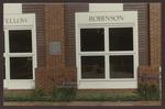 Abplanalp Library Windows, Westbrook College, 1986
