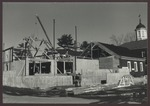 MWWC Wing, Abplanalp Library Construction, Westbrook College, 1986