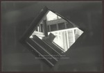 Diamond Shaped Window, Abplanalp Library Construction, Westbrook College, 1986