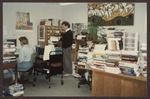 Technical Services Staff, Abplanalp Library, Westbrook College, 1992