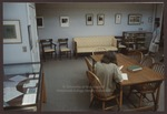Sarton Room, MWWC, Abplanalp Library, Westbrook College, 1993