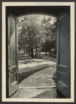 Alumni Hall Open Doors, Westbrook Junior College, ca. 1936