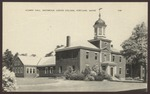 Alumni Hall, Westbrook Junior College, Portland, Maine,1940s postcard
