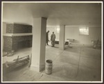 Alumni Hall, Westbrook Junior College, Renovations, 1940, Study-Lounge w/Fireplace