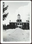 Alumni Hall Bell Tower, Westbrook College, Winter 1960s