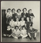 Elementary Music Department Students, Westbrook Seminary, 1920s