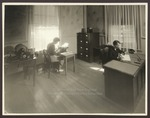Business Office, Goddard Hall, Westbrook Junior College, 1930s