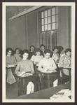 Classroom, Proctor Hall, Westbrook Junior College, 1958