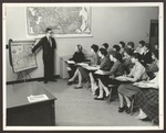 Classroom, Proctor Hall, Westbrook Junior College, 1960s