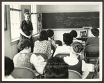 Classroom, Alumni Hall, Westbrook Junior College, 1965